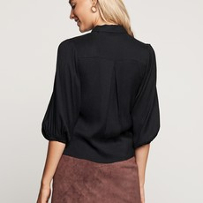 Catwalk Junkie Catwalk Junkie blouse Ruby Black
