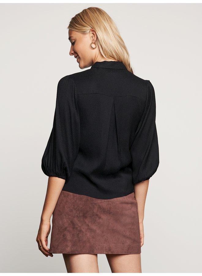 Catwalk Junkie blouse Ruby Black