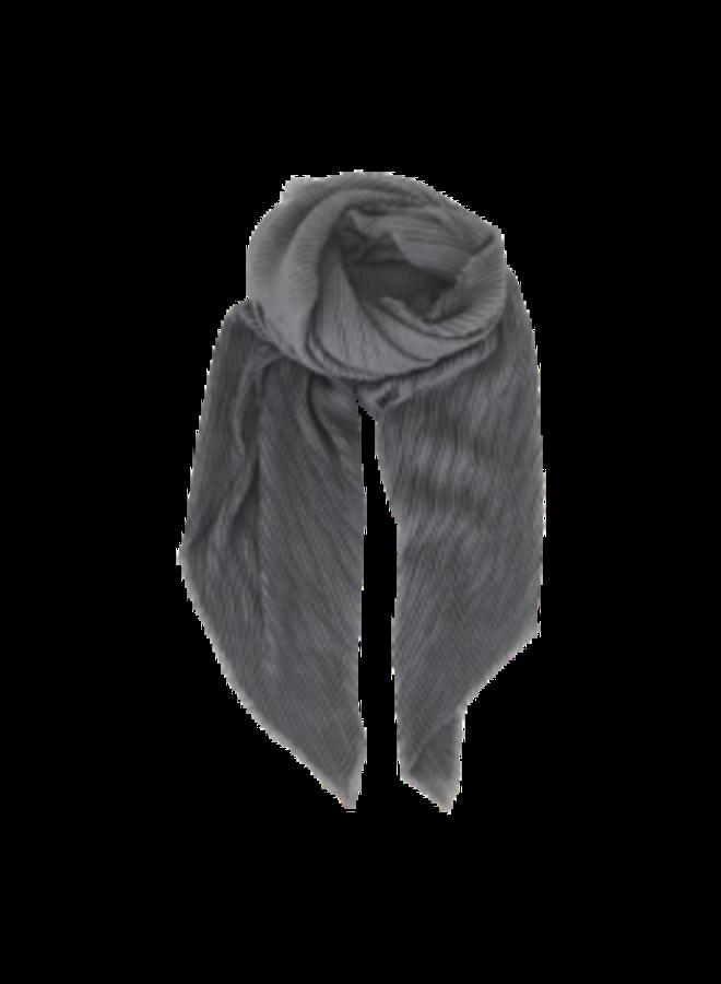 Black Colour sjaal Noisy Grey