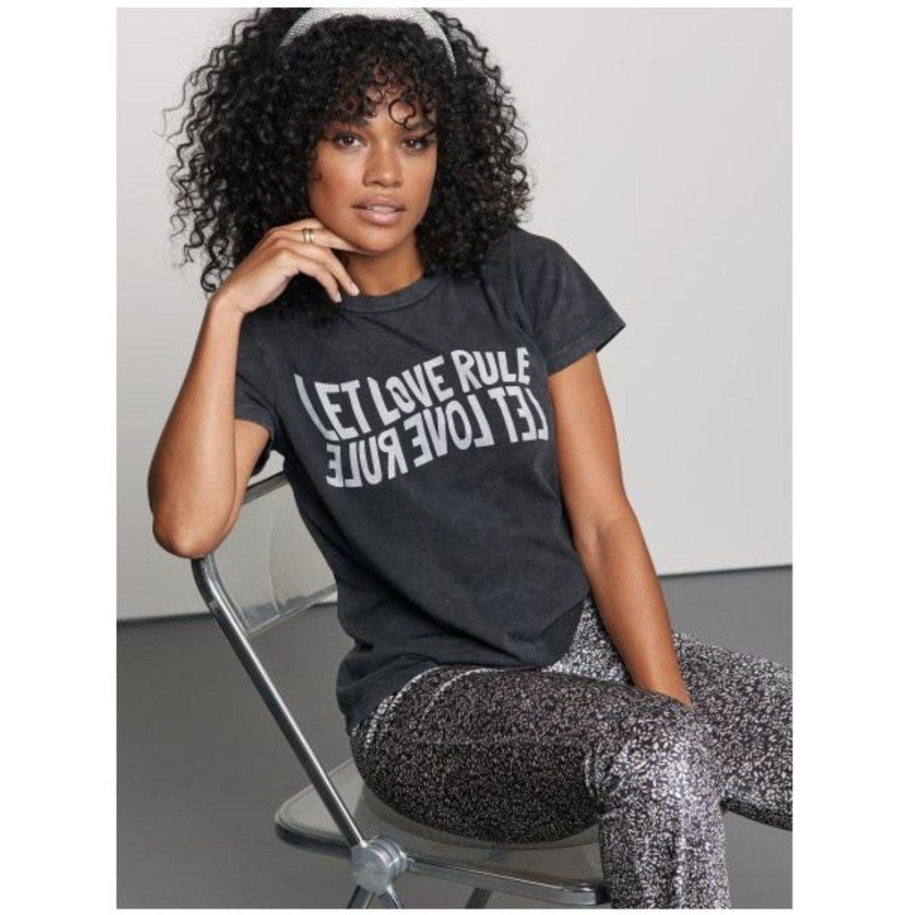 Catwalk Junkie Catwalk Junkie T-shirt Let Love Rule Dark Grey