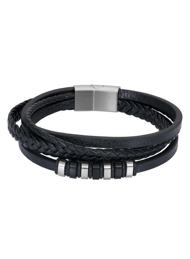 iXXXi Men Leren armband Collin