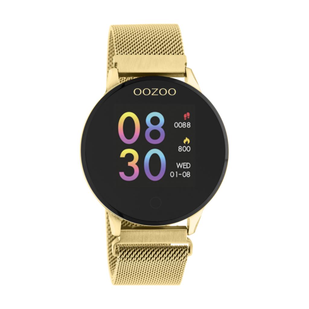 OOZOO OOZOO Smartwatch Q00121 Gold Plated Mesh