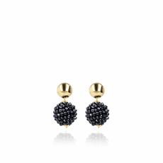 LOTT. Gioielli LOTT. Gioielli oorbellen Glasberry Globe S Black