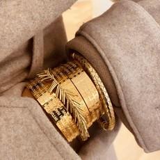 LOTT. Gioielli LOTT. Gioielli bangle Vibes Gold Plated