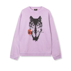 ALIX The Label ALIX The Label sweater Wolves Lilac