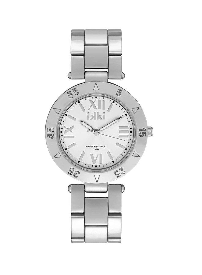 iKKi horloge Paige PG01 Silver/Silver