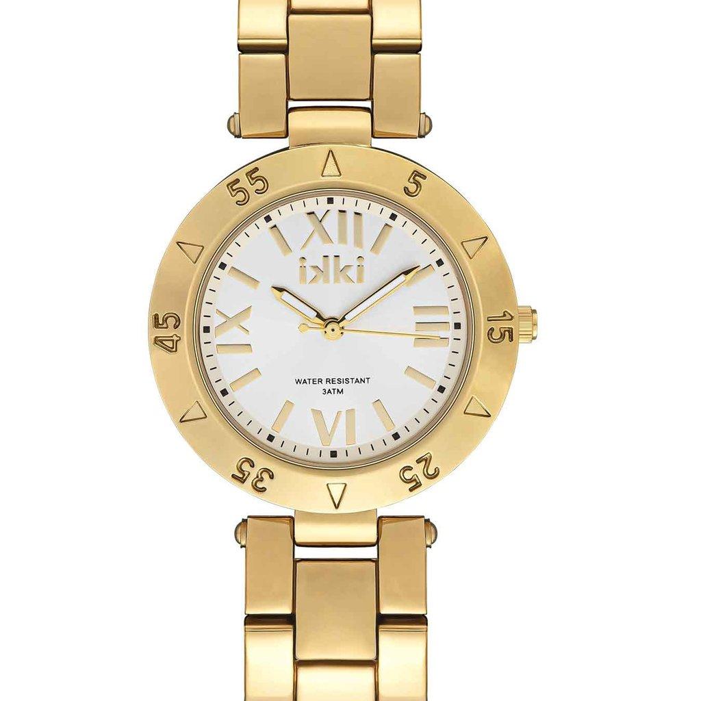IKKI iKKi horloge Paige PG02 Gold/Silver