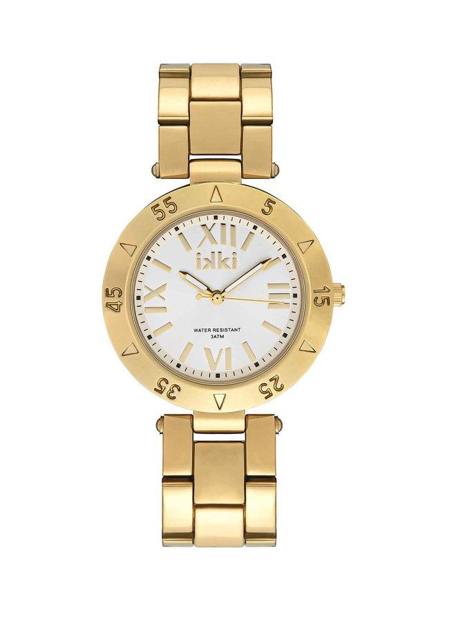 iKKi horloge Paige PG02 Gold/Silver