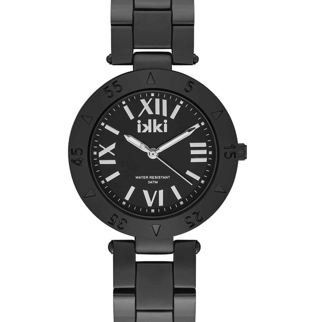 IKKI iKKi horloge Paige PG03 Black/Silver