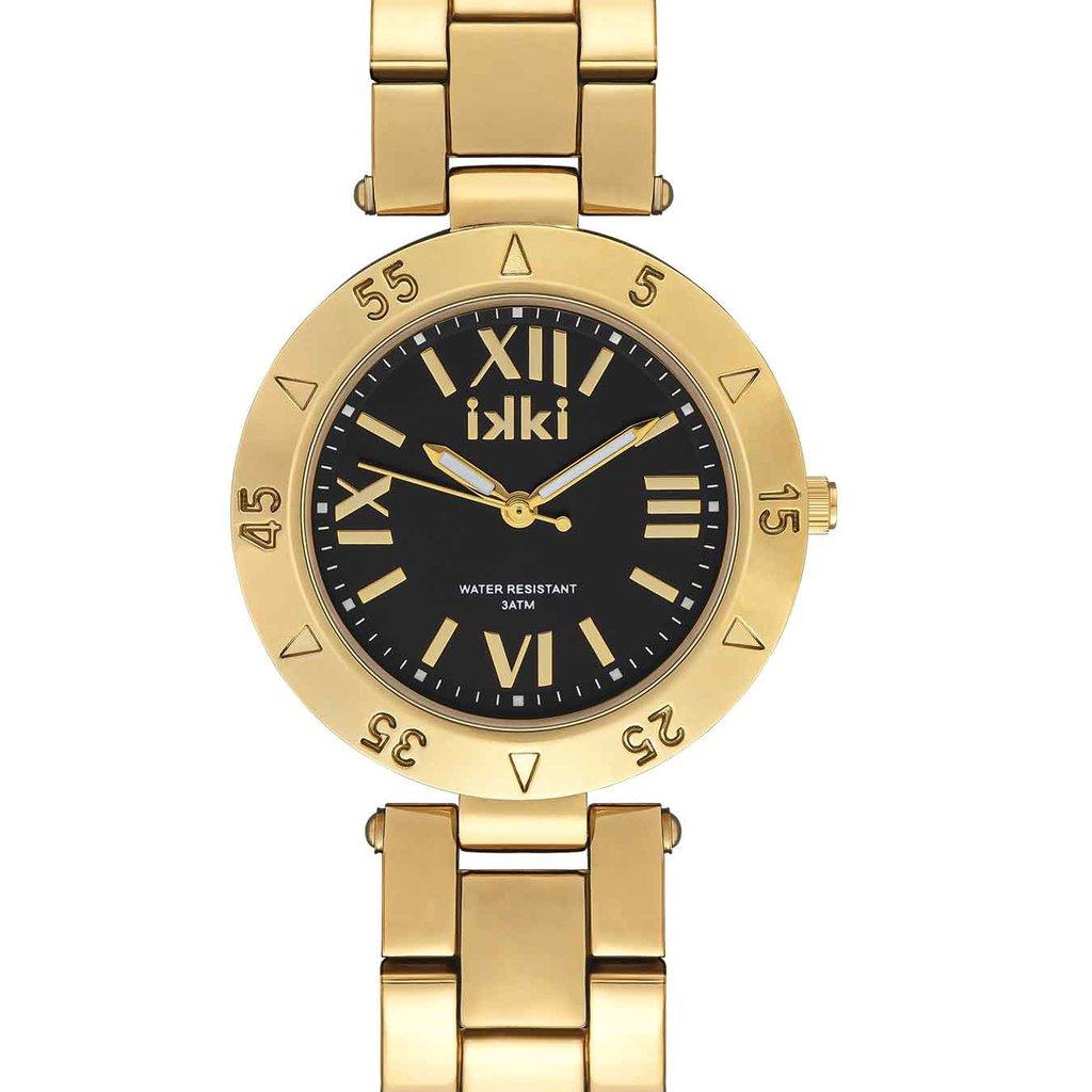 IKKI iKKi horloge Paige PG05 Gold /Black