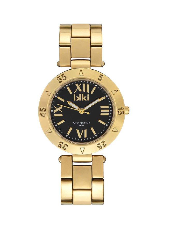 iKKi horloge Paige PG05 Gold /Black