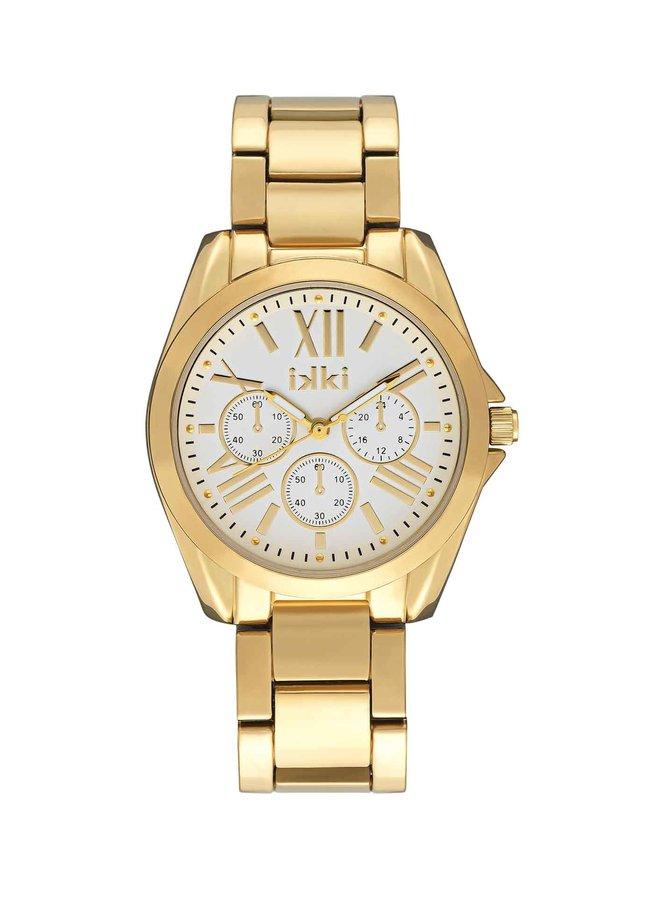 iKKi horloge Nova NV03 Gold/Silver
