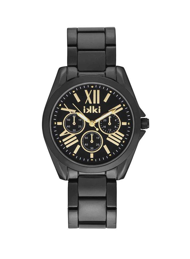 iKKi horloge Nova NV04 Black/Gold