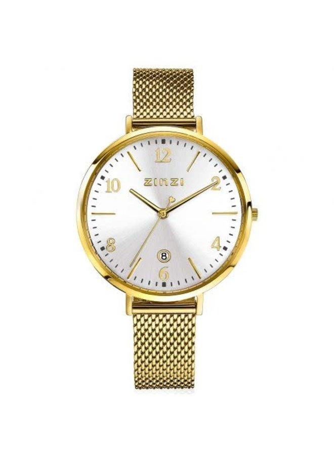 Zinzi horloge ZIW1443 Sophie Goud/Zilver