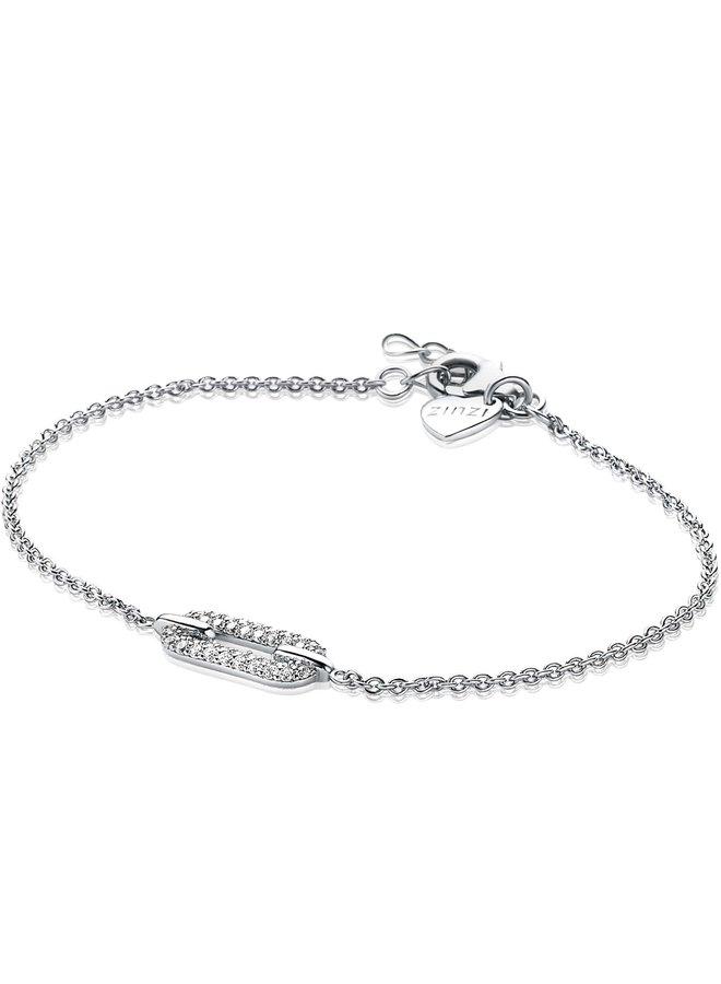 Zinzi armband ZIA1894 zilver