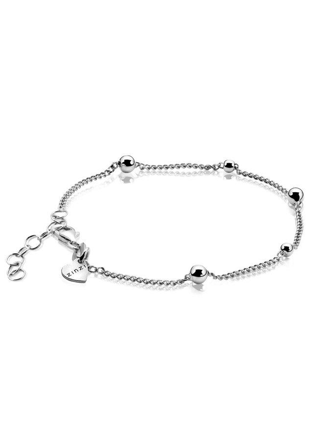 Zinzi armband ZIA987 zilver