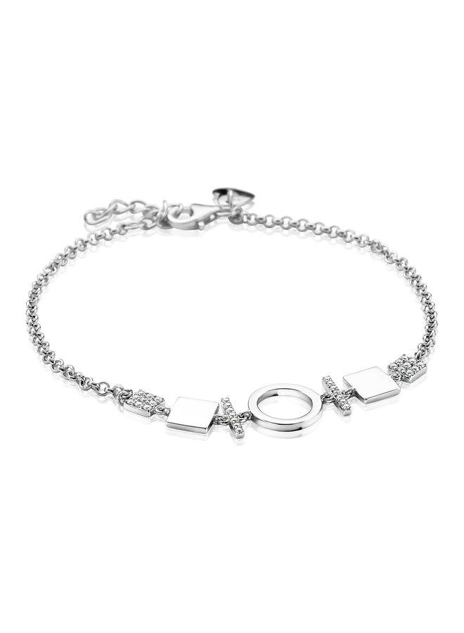 Zinzi armband ZIA1565 zilver