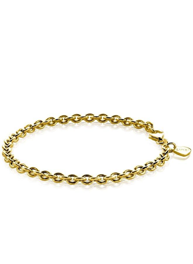 Zinzi armband ZIA1153 goud verguld