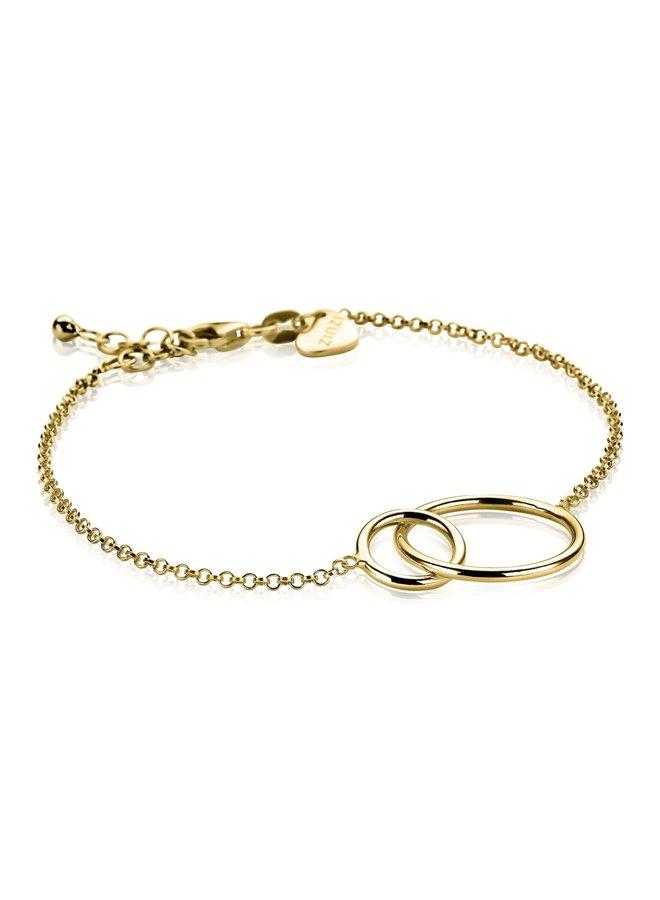 Zinzi armband ZIA1278 goud verguld