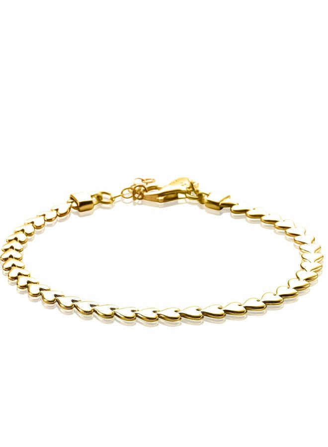 Zinzi armband ZIA1798 goud verguld
