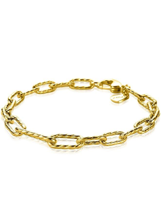 Zinzi armband ZIA2097 goud verguld