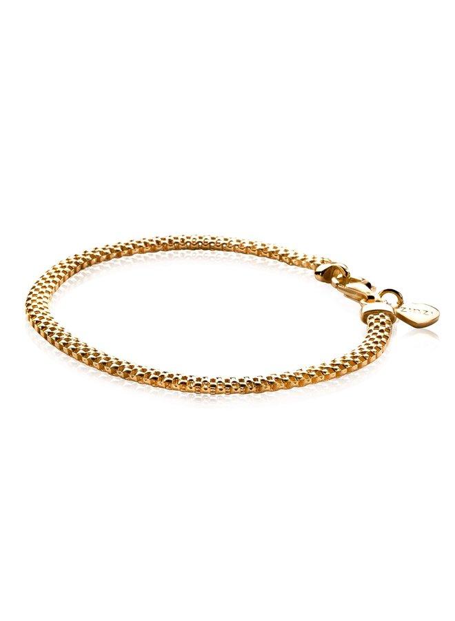 Zinzi armband ZIA878 goud verguld