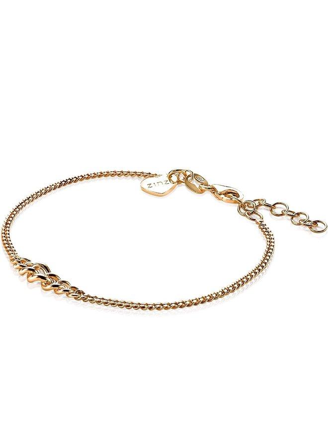 Zinzi armband ZIA1259 goud verguld