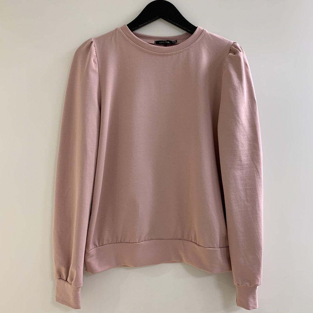 Jewelz & More Sweater Pofmouw Roze
