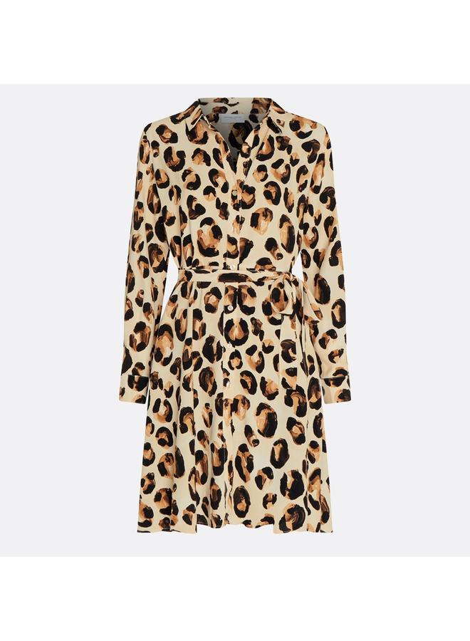 Fabienne Chapot jurk Dorien Oatmeal Panther Love