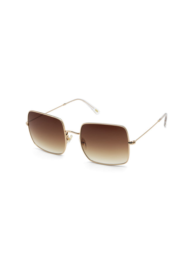 iKKi Zonnebril Adele 70-1 Gold - gradient brown