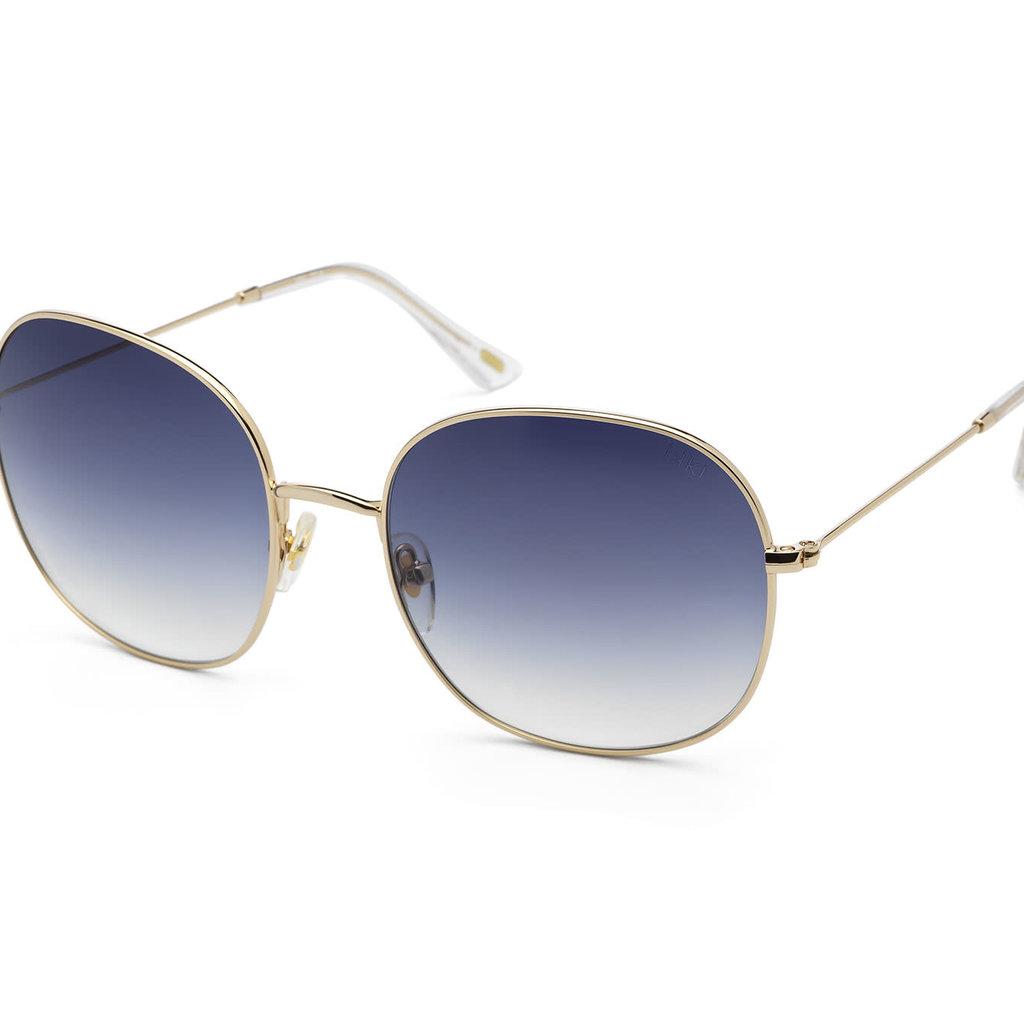 IKKI iKKi Zonnebril Celeste 72-4 Gold - gradient blue
