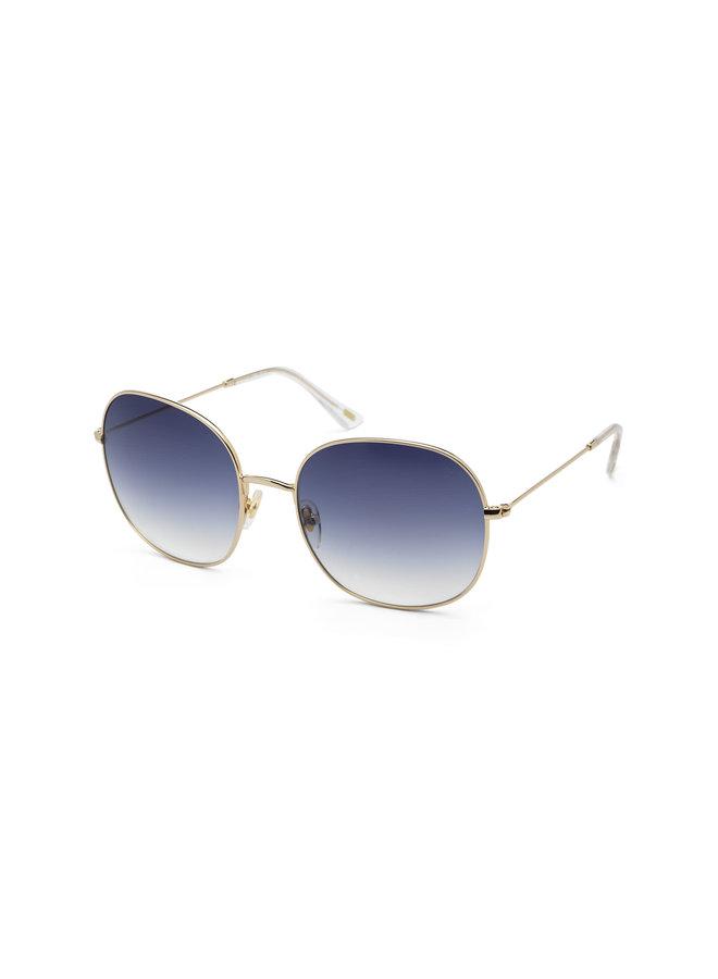 iKKi Zonnebril Celeste 72-4 Gold - gradient blue
