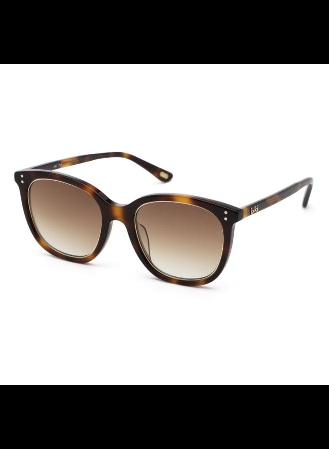 iKKi Zonnebril Giuliana 75-5 Dark flamed - gradient brown