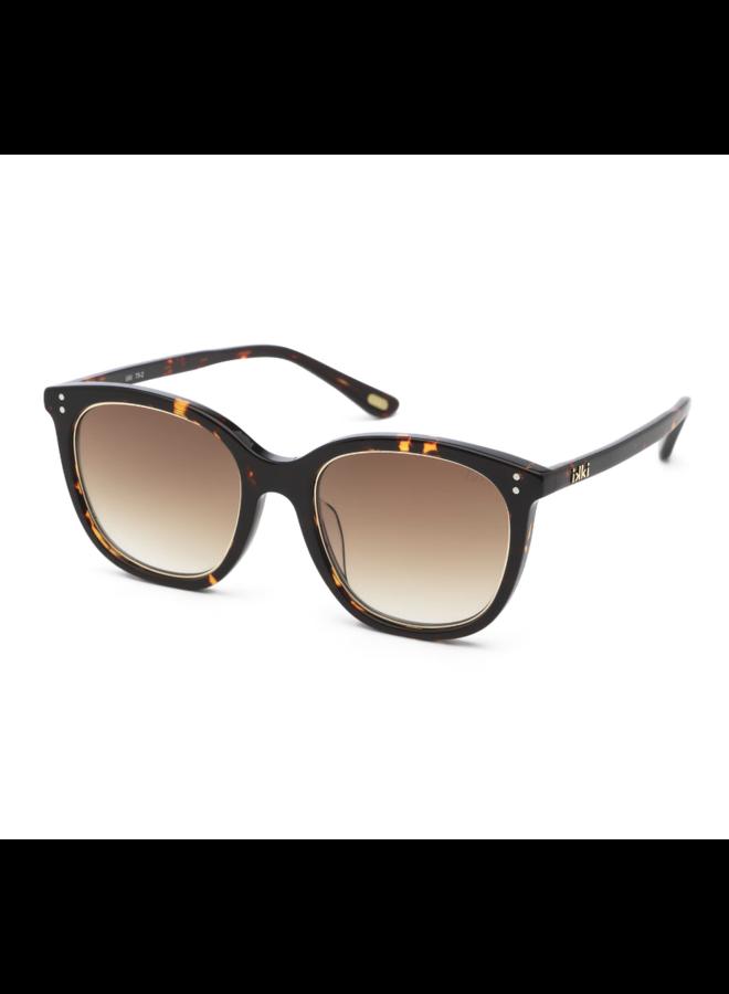 iKKi Zonnebril Giuliana 75-2 Dark turtle - gradient brown