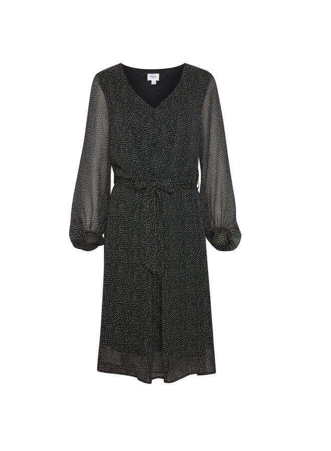 Saint Tropez jurk FridaSZ Black Dot