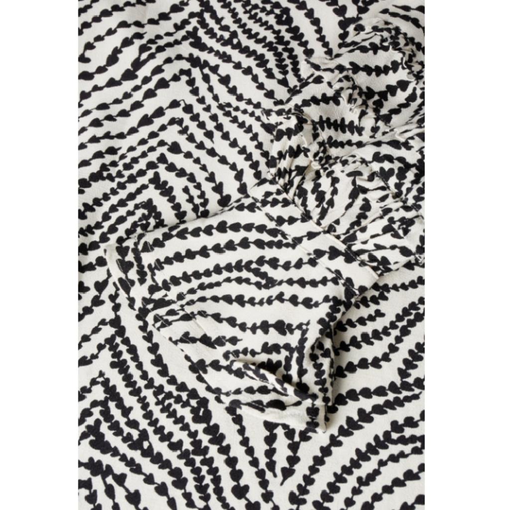 Fabienne Chapot Fabienne Chapot blouse Leo Cream White/Black