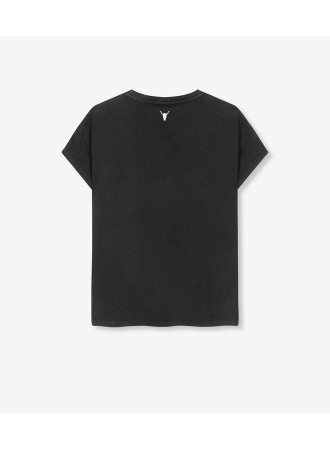 ALIX t-shirt University Black