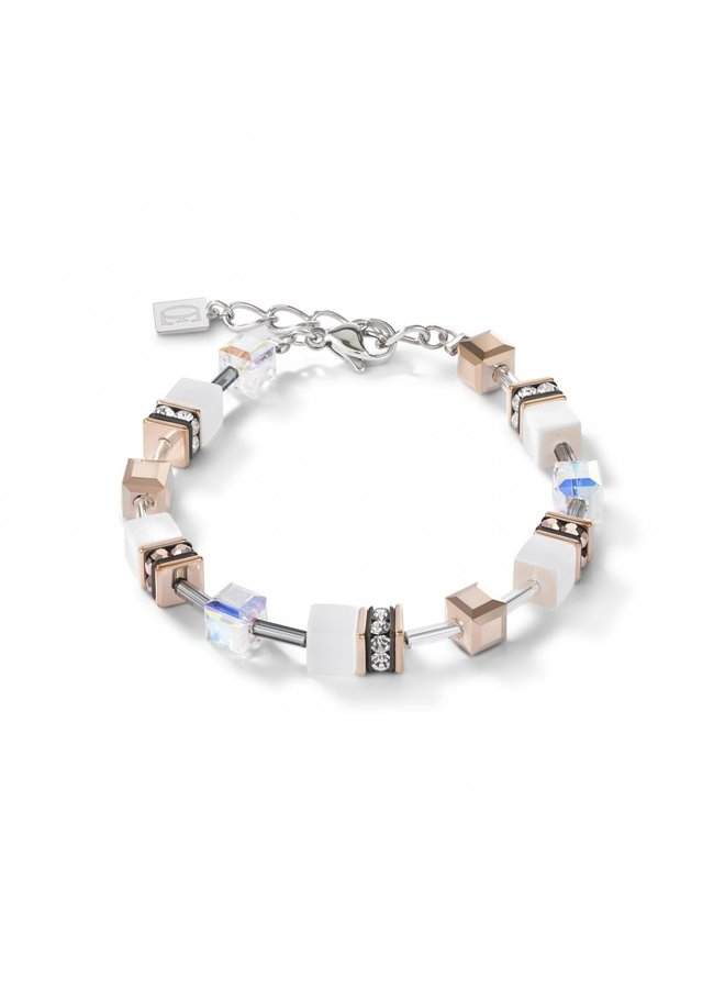 COEUR de LION armband 4015/30 White Rosegold