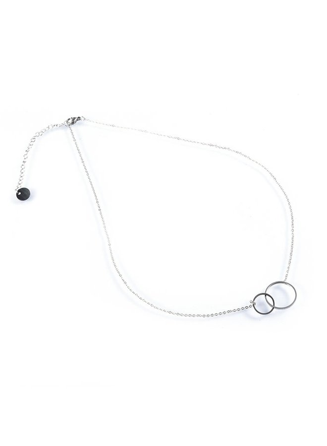 Go Dutch Label ketting N7063-1 Stainless Steel 50cm