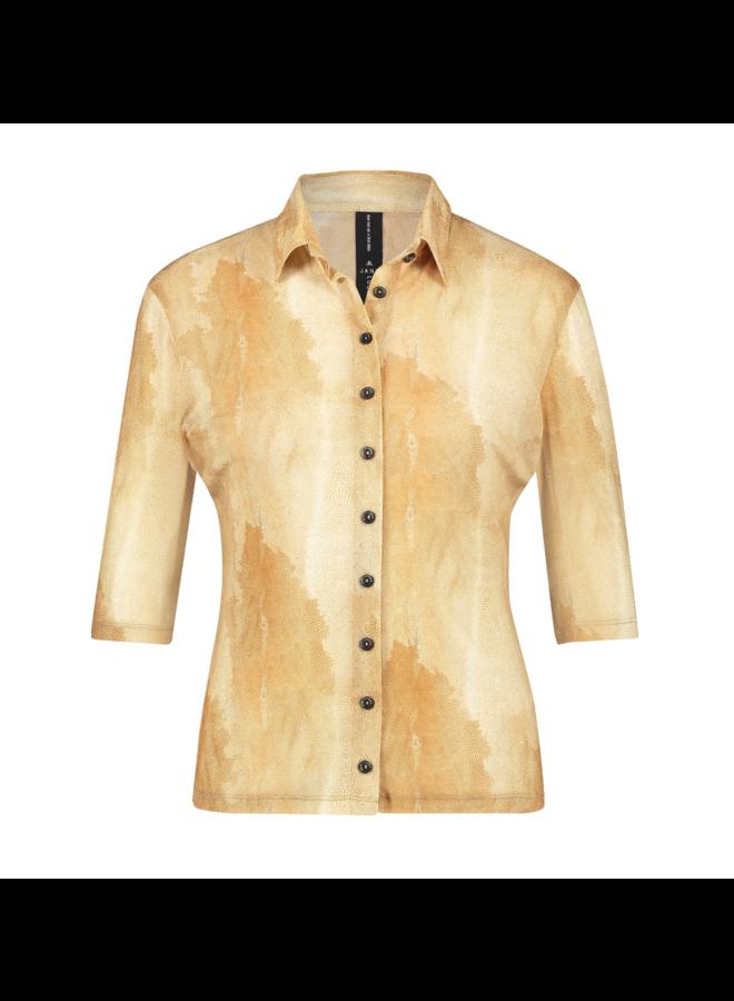 Jane Lushka blouse Noel Beige