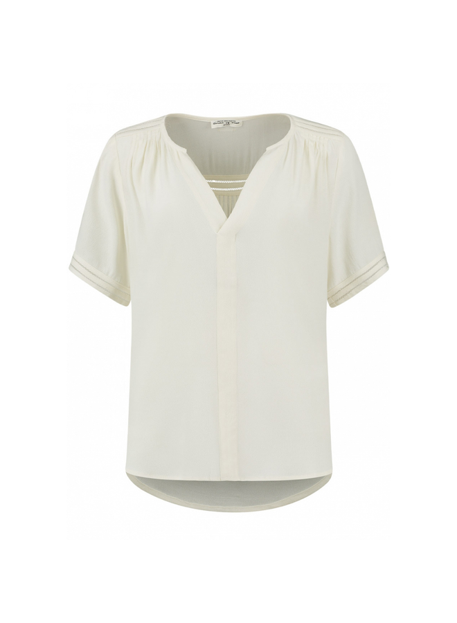 Circle of Trust blouse Cristy Cloud White