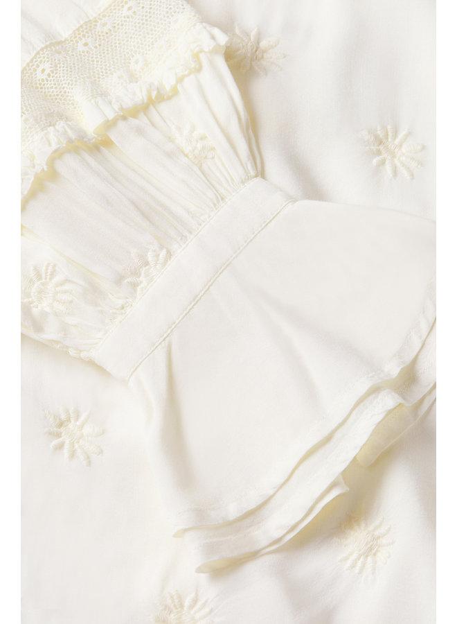 Fabienne Chapot blouse Isa Cream White