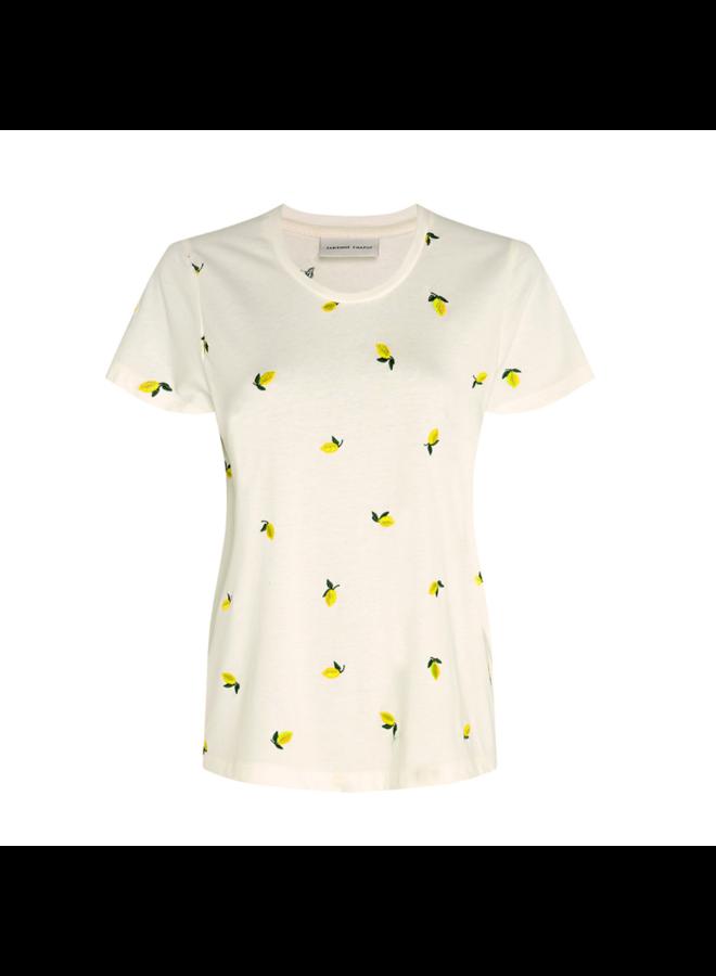 Fabienne Chapot t-shirt Kris Lime Cream White