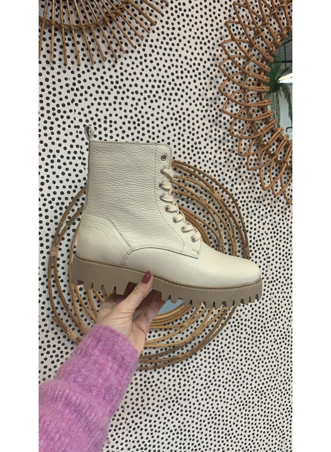 DWRS boots Stanley Grainy Off White/Beige