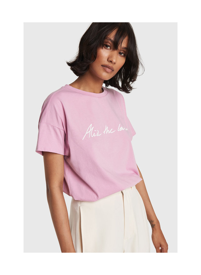 ALIX The Label T-shirt Blossom Pink