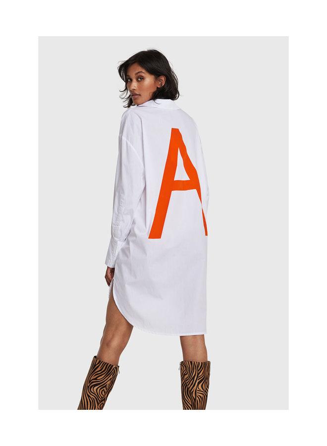 ALIX The Label blouse Oversized Soft White