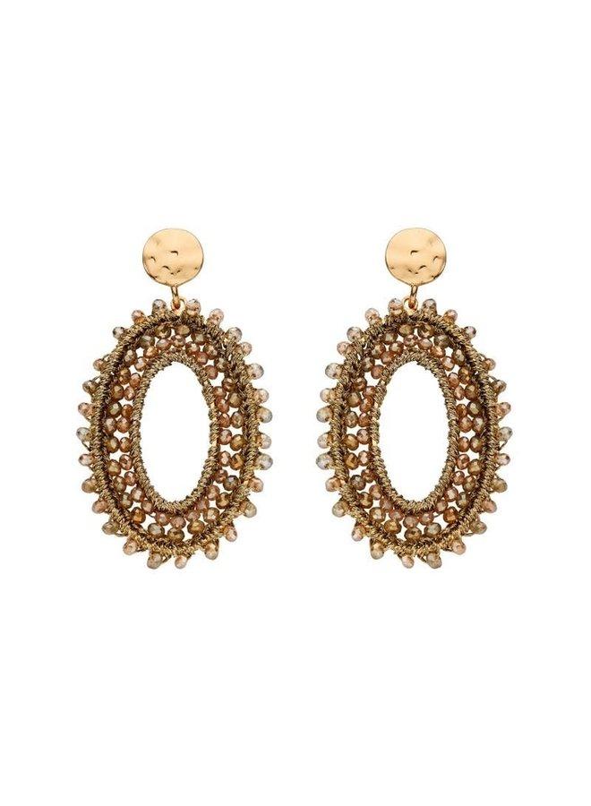 Biba oorbellen 81940-01 Gold Plated