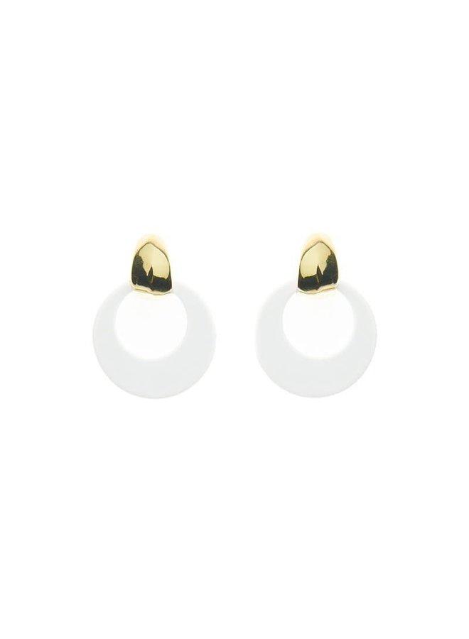 Biba oorbellen 81974-28 Gold Plated