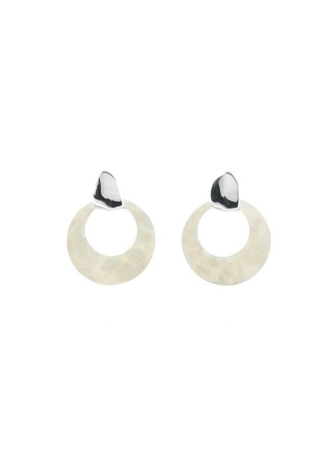 Biba oorbellen 81973-12 Silver Plated