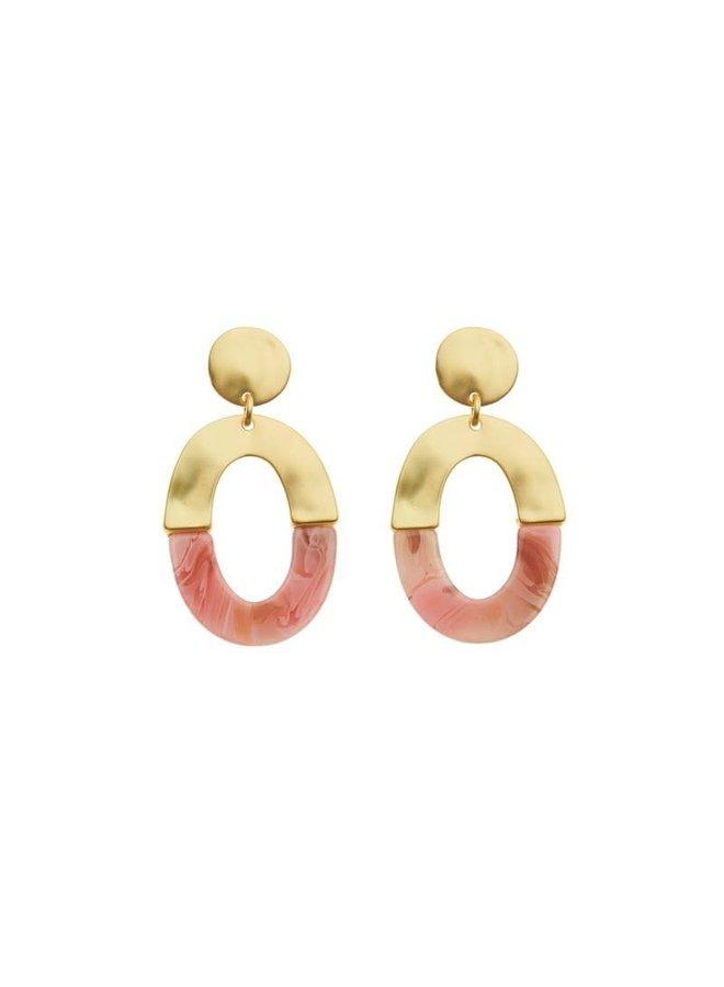 Biba oorbellen 81957-09 Gold Plated